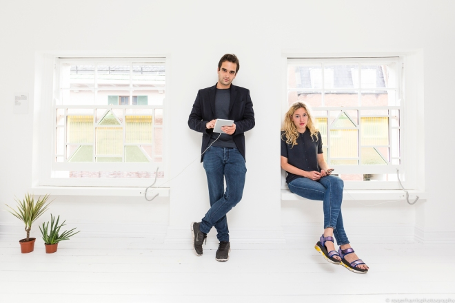 Award winning co-founders of Caventou, integrating solar power into beautiful home objects