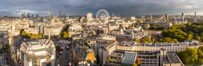 London looking amazing from the penthouse at the top of the New Zealand consulate